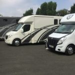 Three Horseboxes in a Row