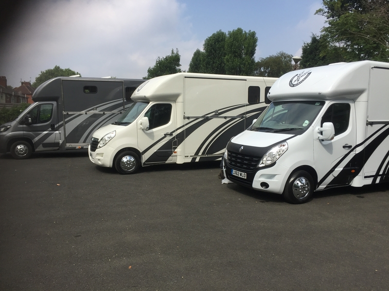 New Build Horseboxes in a Row