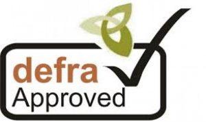 Defra Approved Logo