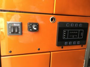 Electric Controls for Horsebox