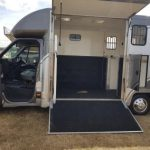 Grey and Silver Horsebox Small