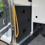 Side Door Open to Stalls