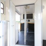Rear Doors to Horse Stalls