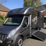 Dark Grey Horsebox Small