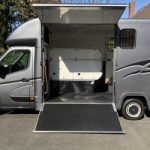 Dark Grey Horsebox Doors Open Small