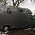 Dark Grey Horsebox