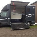 Renault Horsebox Side Open