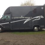 Renault Horsebox Side View