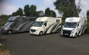 Three Horseboxes