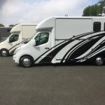 Three Horseboxes Side View