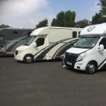 Three Horseboxes with Grey Graphics