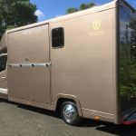 Bronze Horsebox Side View