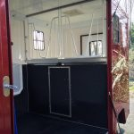 Red Horsebox with Stalls