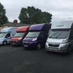 Four Horseboxes