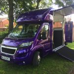 Purple Horsebox