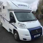 White 3.5 Ton Horsebox